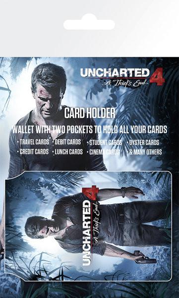 Bolsa para cartões Uncharted 4 - Keyart