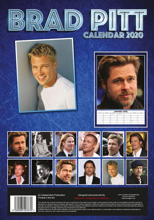 Brad Pitt   Wall Calendars | Large selection