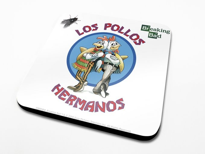 Breaking Bad - Los Pollos Hermanos Dessous de Verre