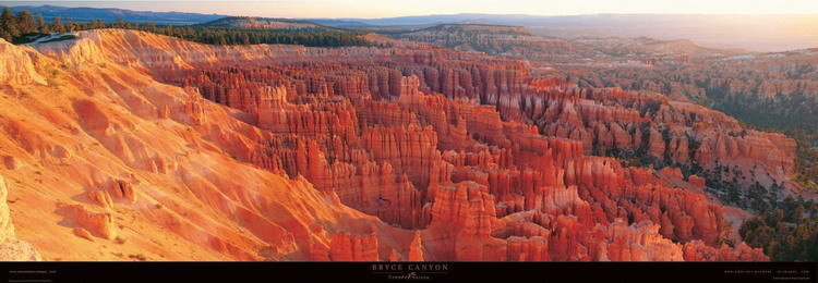 Bryce Canyon Reproduction d'art