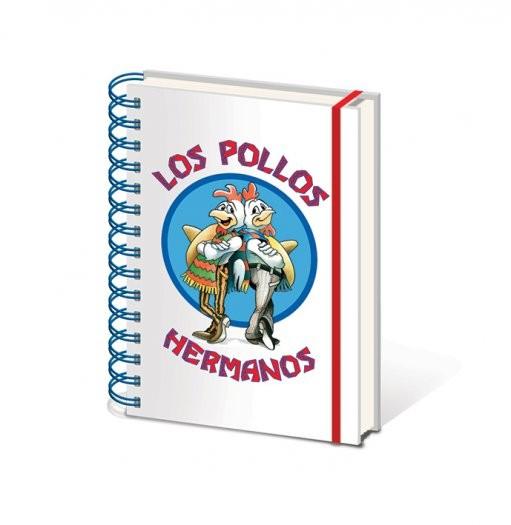 Caderno Breaking Bad - Los Pollos Hermanos A5