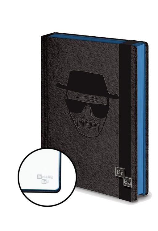 Caderno  Breaking Bad Premium A5 Notebook Premium A5 - Heisenberg