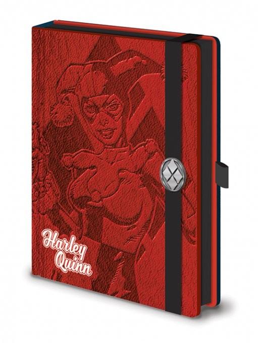 Caderno  DC Comics - Harley Quinn Premium A5