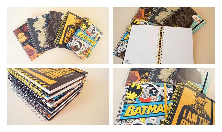 Caderno  DC Originals - Harley Quinn A5