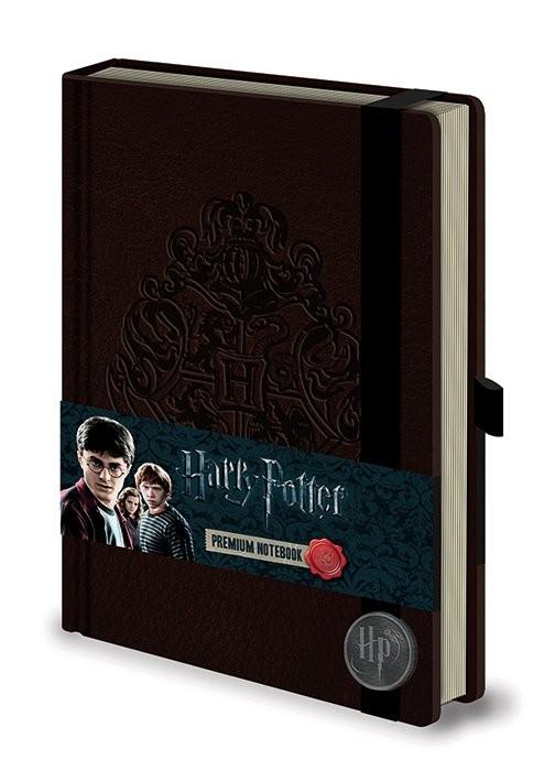 Caderno Harry Potter - Hogwart's Crest Premium A5