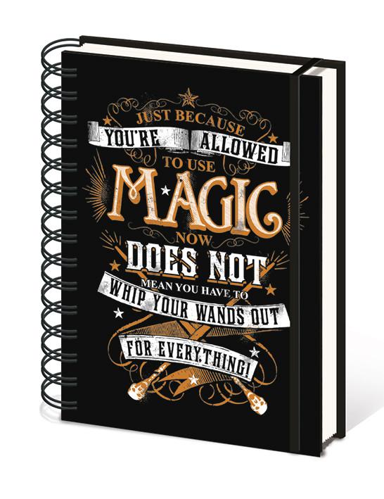 Caderno Harry Potter - Magic