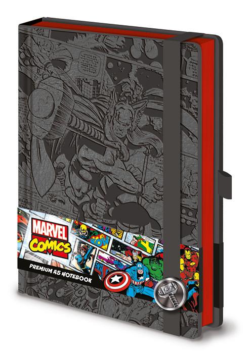 Caderno Marvel  Thor A5 Premium