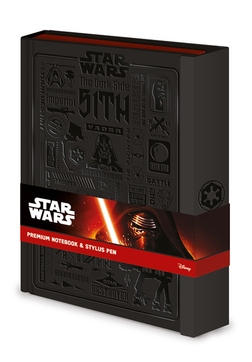 Caderno Star Wars - Icongraphic