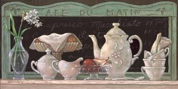 Cafe Du Matin Reproduction d'art