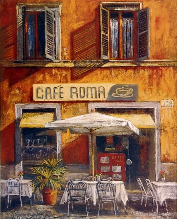 Café Roma Reproduction d'art