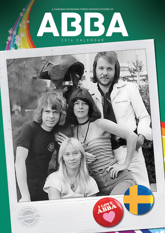 Calendar 2017 ABBA