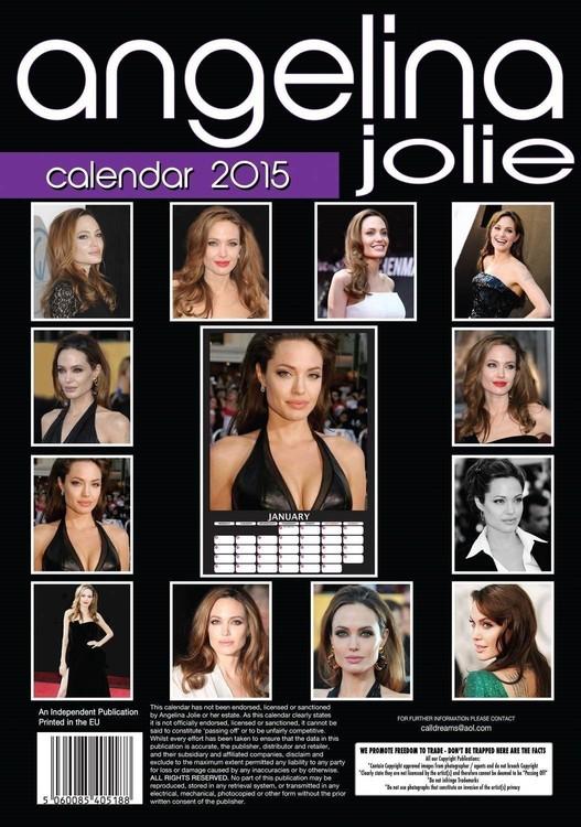 Calendar 2020 Angelina Jolie