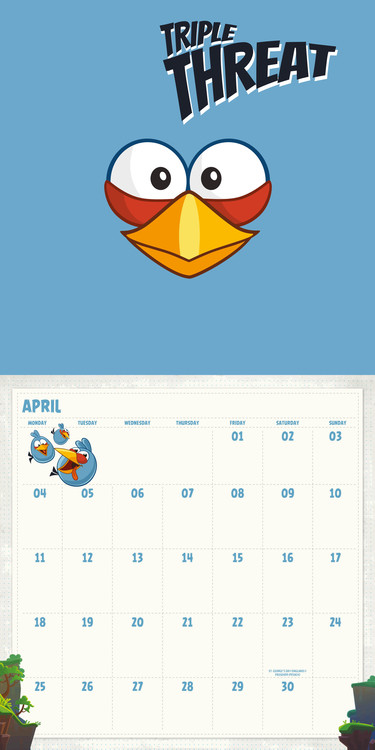 Angry Birds - Calendars 2020 on UKposters/UKposters
