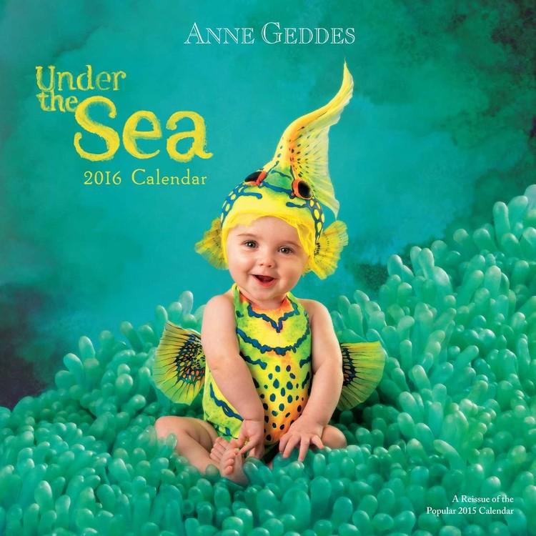 Calendar 2017 Anne Geddes - Under the Sea