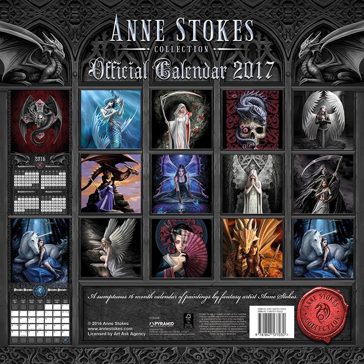 Calendar 2020 Anne Stokes