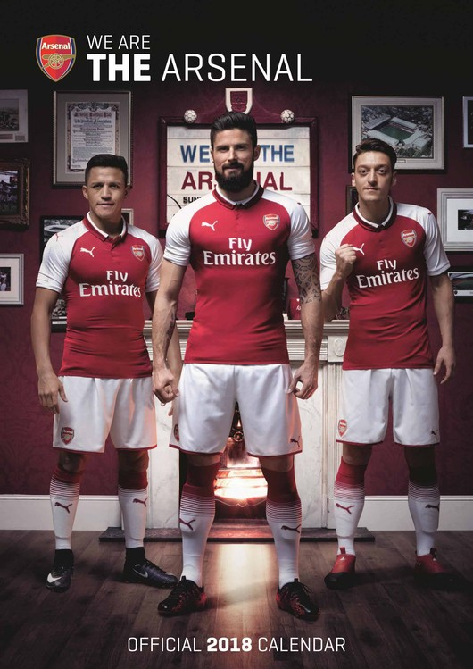 Arsenal - Calendars 2020 on UKposters/EuroPosters