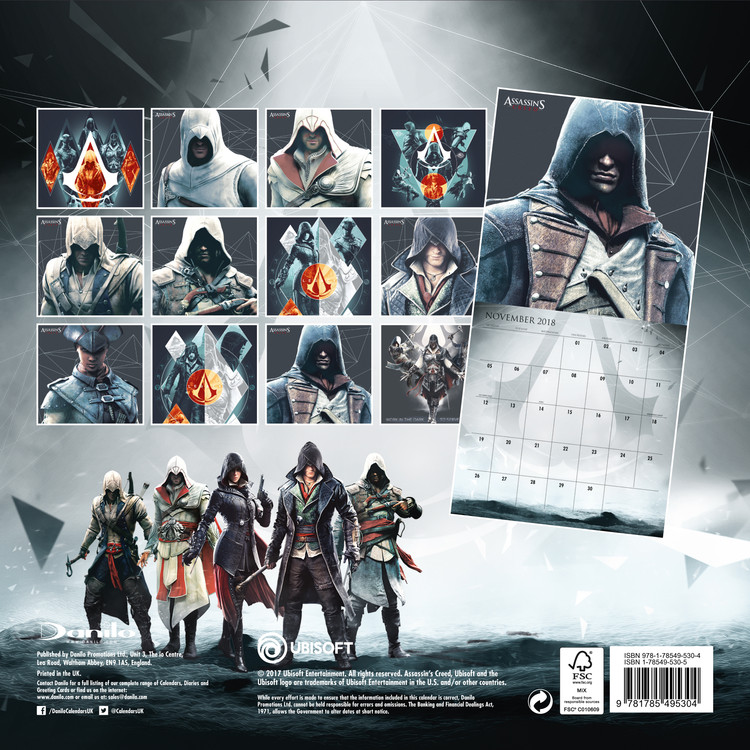 Assassins Creed Game   Calendars 2021 on UKposters/Abposters.com