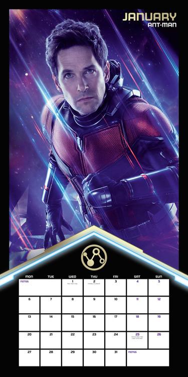 Calendar 2021 Avengers: Endgame