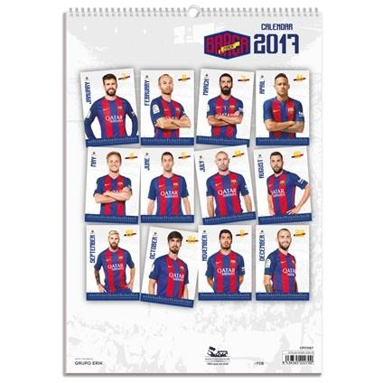 Calendar 2018 Barcelona