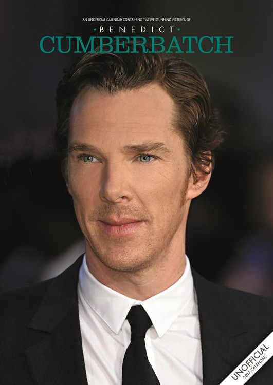 Calendar 2017 Benedict Cumberbatch