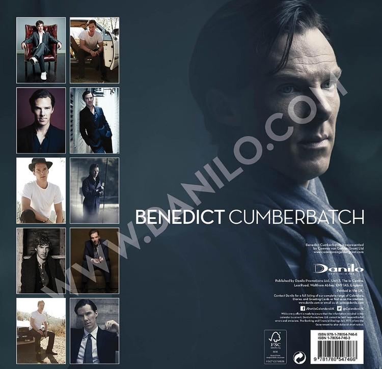 Calendar 2018 Benedict Cumberbatch - Sherlock
