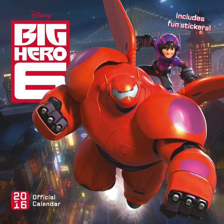 Calendar 2017 Big Hero 6