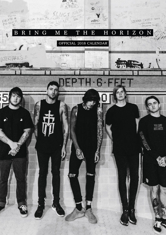 Bring Me The Horizon Tour 2020.Bring Me The Horizon Calendars 2020 On Ukposters Europosters