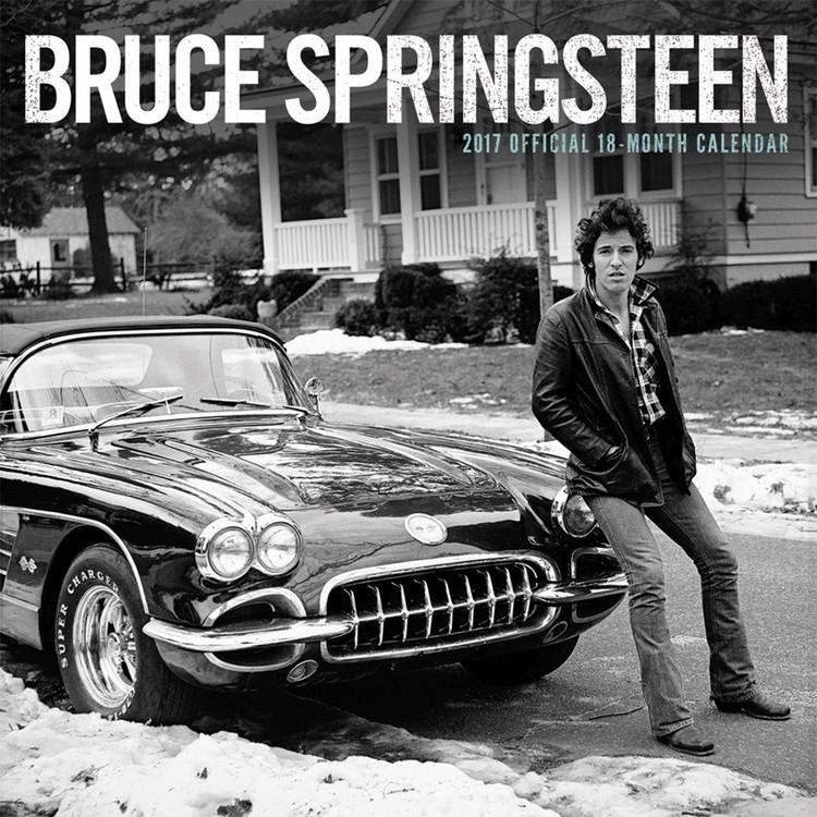 Calendar 2017 Bruce Springsteen