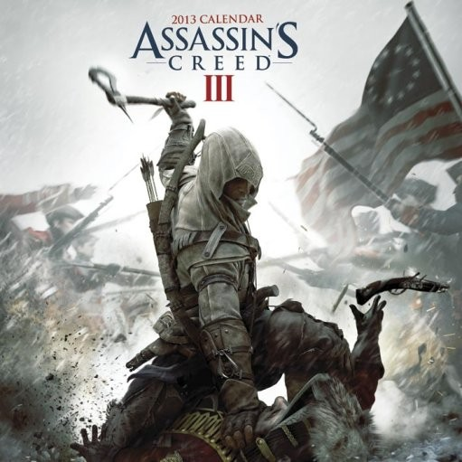 Calendar 2017 Calendar 2013 - ASSASSINS CREED 3