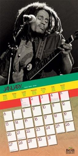 Calendar 2018  Calendar 2013 - BOB MARLEY