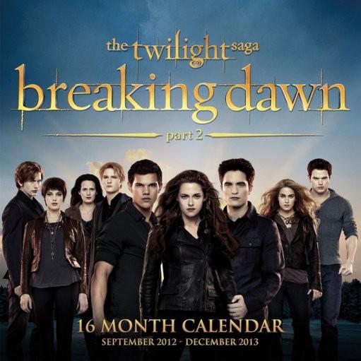 twilight naptár Calendar 2013   TWILIGHT BREAKING DAWN   Calendars 2019 on  twilight naptár