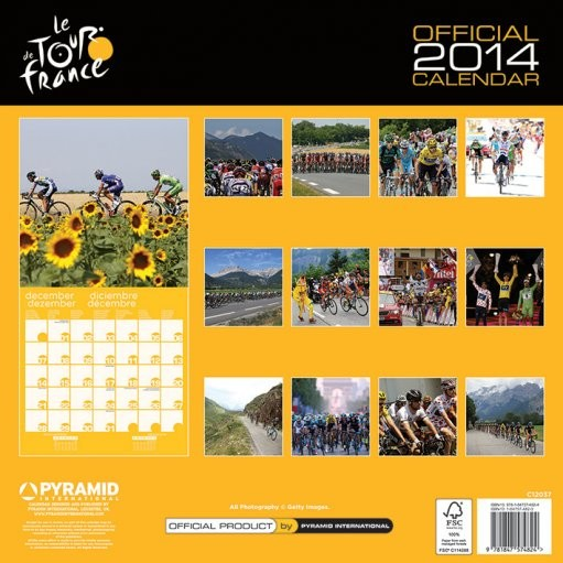 Calendar 2014   TOUR DE FRANCE   Calendars 2021 on UKposters