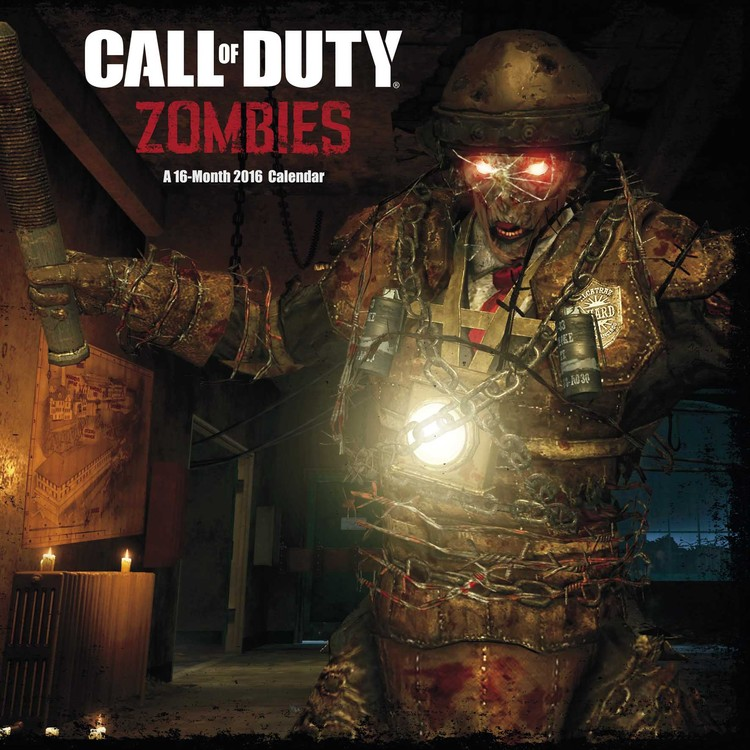 Call of Duty: Zombies - Calendar 2016