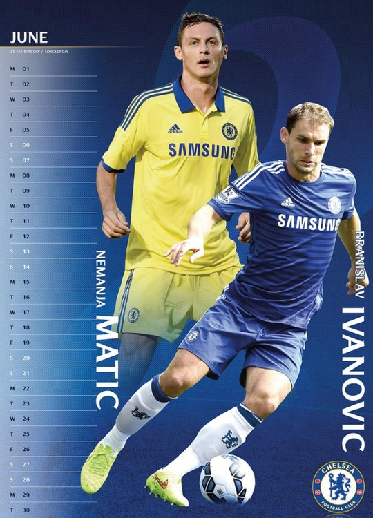 chelsea naptár Chelsea FC   Calendars 2019 on UKposters/EuroPosters chelsea naptár