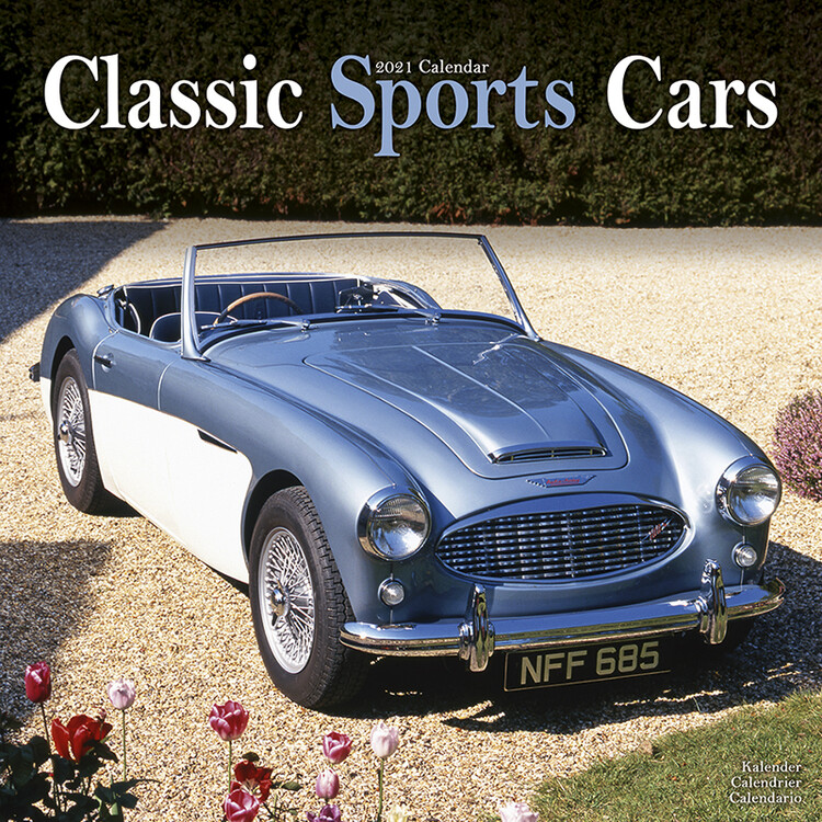 Classic Sports Cars   Calendars 2021 on UKposters/EuroPosters