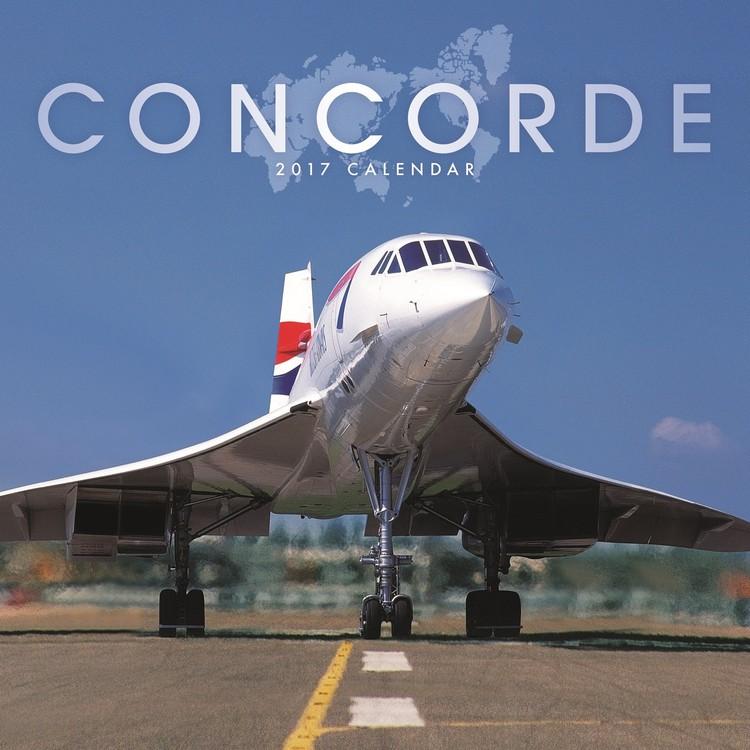 Calendar 2017 Concorde