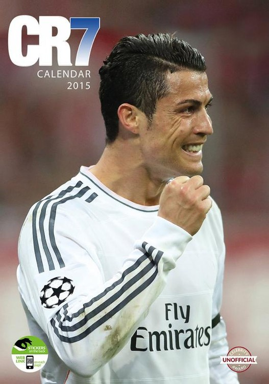 Calendar 2018 Cristiano Ronaldo