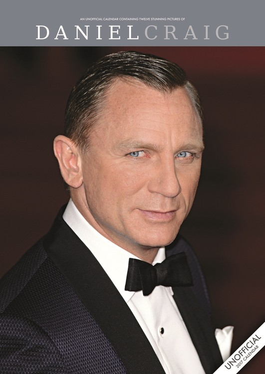 Calendar 2020 Daniel Craig