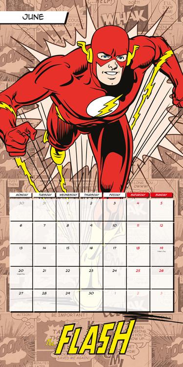 Calendar 2018  DC Comics