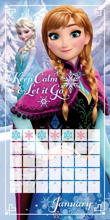 Disney Frozen Calendars 2020 On Ukposters Abposters Com