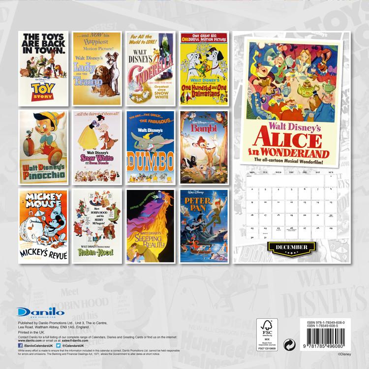 disney naptár 2019 Disney   Calendars 2019 on UKposters/Abposters.com disney naptár 2019