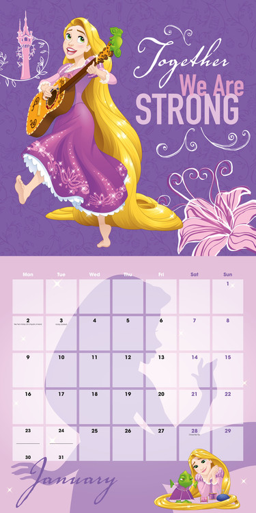 disney naptár 2019 Disney   Princess   Calendars 2019 on UKposters/Abposters.com disney naptár 2019