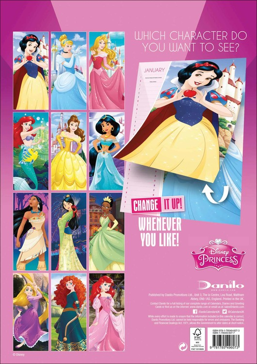 Disney Princess   Calendars 2021 on UKposters/EuroPosters