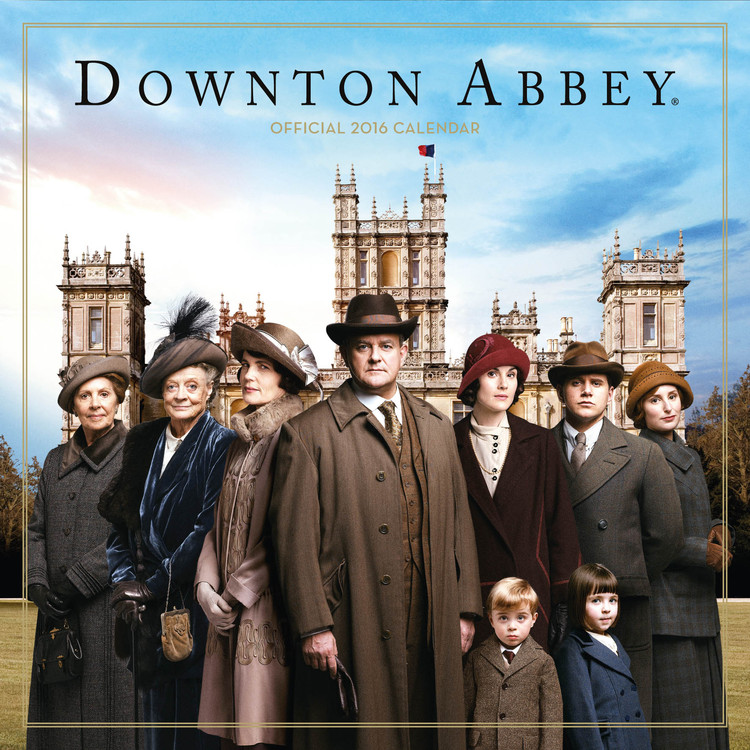 Calendar 2017 Downton Abbey