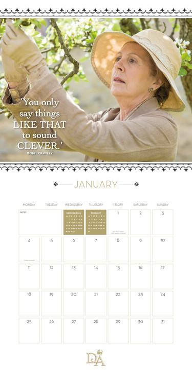 Calendar 2021 Downton Abbey