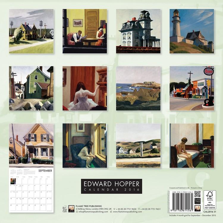 Edward Hopper Calendars 2021 on