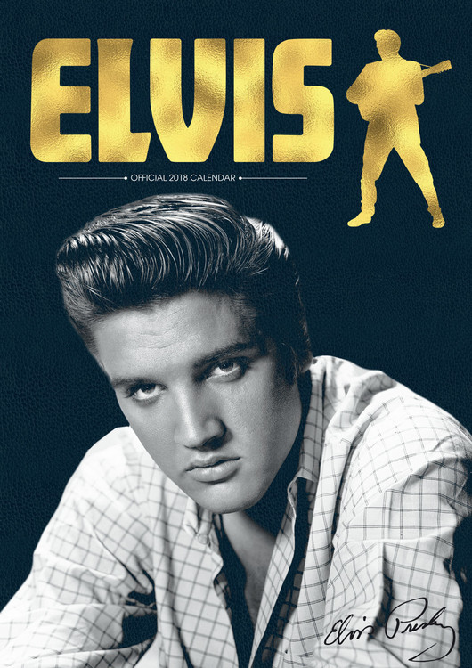 Calendar 2018 Elvis