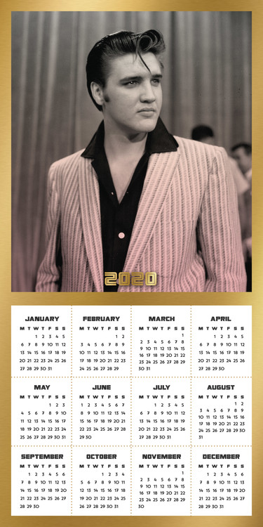 Calendar 2021 Elvis
