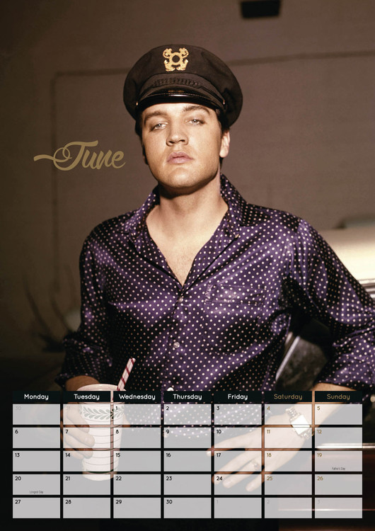 Elvis Presley - Calendars 2020 on UKposters/EuroPosters