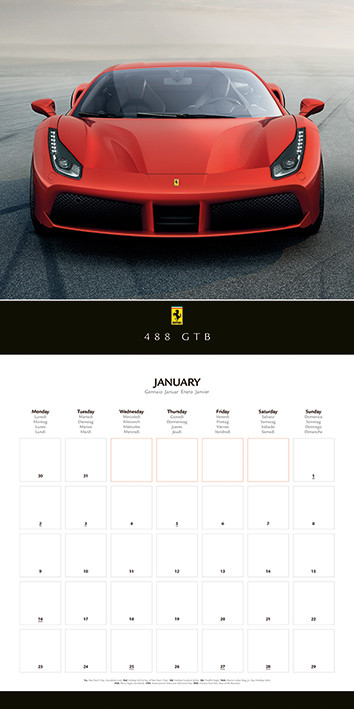 Ferrari   Calendars 2021 on UKposters/Abposters.com